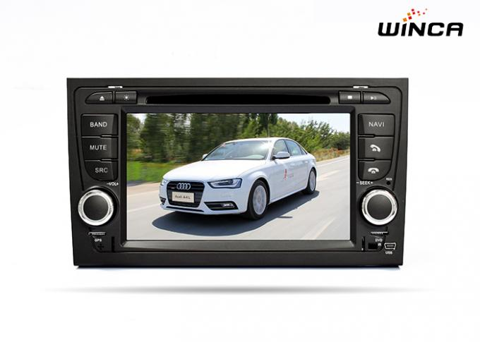 Auto-DVD-Spieler Touch Screen Soems Audi A4 voller mit Canbus BT 3G morgens/FM-Navigation