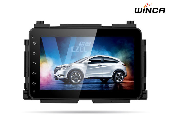 "8"" Touch Screen Honda GPS Navigation 2014-2017 Honda Vezel Head Unit"