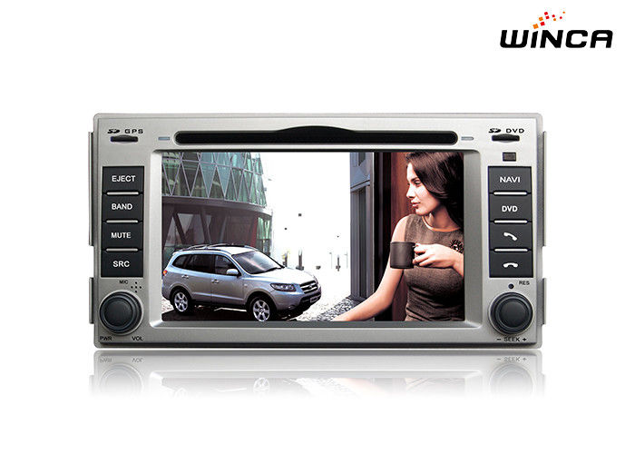 Hyundai Santa Fe 2008-11 Car Audio Hyundai GPS Navigation SWC OBD2 Support 3G Internet